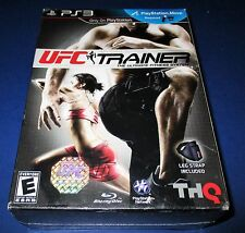 UFC Personal Trainer: The Ultimate Fitness System Sony PlayStation 3 *Sealed!