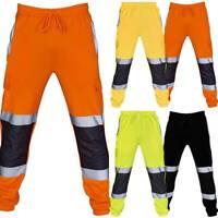 Hi Vis Rain Pants Work Waterproof Reflective Safety High Visibility Sweatpants