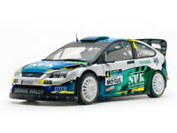 SUNSTAR 3958 3959 Ford Focus RS WRC model rally cars Dohnal / Beaubelique  1:18