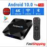 2020 Transpeed Android 10 Smart TV Box 4GB/16GB/32GB Wifi 6K Google Assistant
