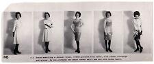 GUMMI FETISCH LATEX WÄSCHE RUBBER UNDIES FETISH * Vintage 60s US Promo Photo S5