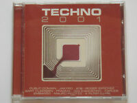 CD compilation TECHNO 2001 comme NEUF