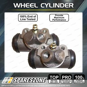 2 Rear Wheel Cylinders LH + RH for Ford Courier Raider PE PG PH Ranger PJ PK