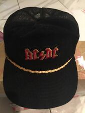 AC/DC Vintage Snapback hat truckers Corduroy Plain Patch Logo Young An