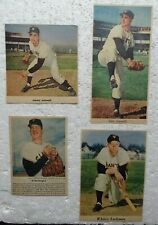 4 NY & SF Giants 1950'S/60's Color Sunday Newspaper Clippings