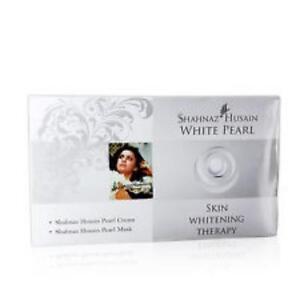 SHAHNAZ HUSAIN WHITE PEARL KIT - SKIN WHITENING THERAPY - 10+10 GMS.