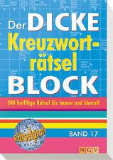 Der dicke Kreuzworträtsel-Block. Bd.17
