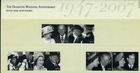 GB Presentation Pack 403 2007 QEII DIAMOND WEDDING ANNIVERSARY