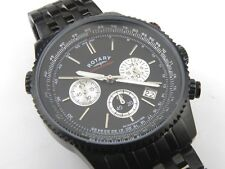Gents Rotary GB03778/04 Black Aquaspeed Chronograph Watch - 100m