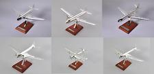 Lot de 6 avions DC-3 Antonov DH Convair 1/200 Collection Atlas en argent plaqué