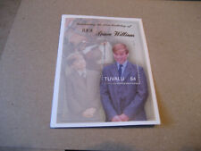 TUVALU  2003 The 21st Anniversary of the Birth of Prince William  SOUVENIR SHEET