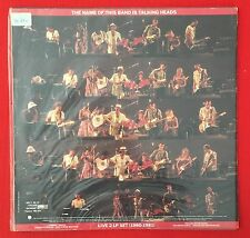 Talking Heads The Name of This Band Is 2xLP vinyl Record WITH Inner SLEAVE