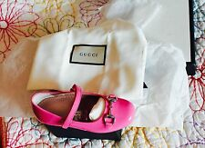 GUCCI ITALY BNIB ADORABLE GIRLS   SHOES,SIZE 25,RARE