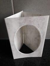 5 Briefhüllen von MK Papier  />/> Farbe marmoriert 5 Passepartout