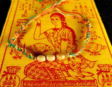 Buddha Sacred SAI SIN BRACELET blessed Buddhist Monk. PROTECTION LUCK + PHA YANT