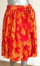 Polyester Knee Length Wrap, Sarong Floral Skirts for Women