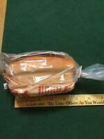 1973 World Vision Love Loaf bread feed hungry family $20 piggy coin Bank Sealed!