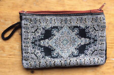 Handmade Traditional Pouch Bag Zip Purse suit mobile Jewellery pen 5.5x4 inches
