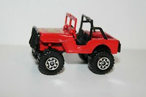 1981 Matchbox Red 4X4 JEEP Golden Eagle ~ 1:59 Scale ~ Nice! ~ VNM