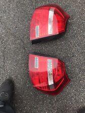 bmw 1 series rear lights E87 Pair