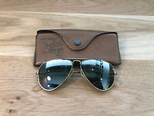Vintage Ray Ban Aviator DGM B&L Sunglasses Bausch&Lomb USA  RB3 Mirrored 1970s
