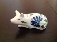 "Dansk SAGE SONG Mini Pig Figurine 3 3/4"" x 2 1/4"" EXCELLENT"