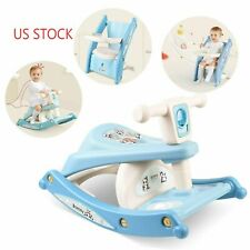 Baby Feeding Chair Seat Infant Toddler Dinning Table Kids Riding Rocking Horse
