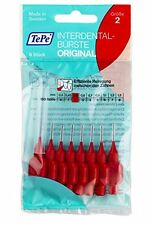 TePe Interdental Brushes RED Size 2/0.5mm - 10 x 8 pack (80) - DENTAL FLOSS