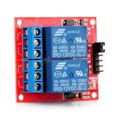 Module de relais 12V (dc,ac) 2 canaux Pour Arduino ou utilisation perso Neuf