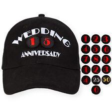 Novelty Wedding Anniversary Hat Cap Gift Bridal Shower Bachelorette Party