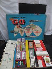 Vintage 1960's Waddington's Go Board Game - International Travel Game. 1961