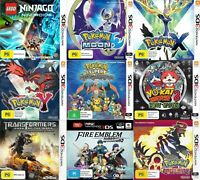 Nintendo 3DS Games - Choose Your Own Title *Free Next Day Post from Sydney*