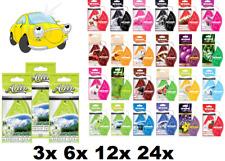 MON AREON-CAR /BEDROOM /HALLWAY AIR FRESHENERS - VARIATIONS - 3x,6x,12x,24x psc.