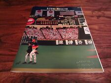 Houston Astros 10/3/1999 Special Issue Program Astrodome RARE Final Game Stamp