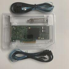 OEM SAS3008 9300-8I Host Bus Adapter 8-Port SAS3 12Gb/s + 2PCS 8643 SATA cable