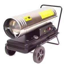 55205 Edelstahl Heizkanone 30kW Diesel Heizung Ölheizgerät Bautrockner Bauheizer