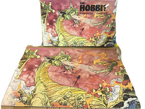 The Hobbit Puzzle Vintage 1977 SMUAG Dragon Jigsaw by Cases Tete COMPLETE