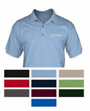 Triumph TR6 Convertible 1969 _ 1976 Polo Shirt - Multiple Colors & Sizes