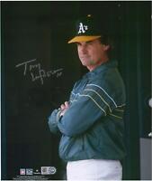"Tony La Russa Oakland Athletics Autographed 8"" x 10"" Dugout Photograph"