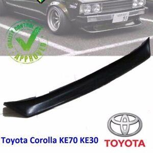 JDM Toyota Corolla KE70 TE71 KE30 Front Bumper Chin Spoiler Lip Air Dam Spoiler