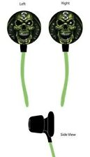 Skull Gangster Ear Buds In-Ear Headphones Dollar Sign Digitat Concepts DCOG205