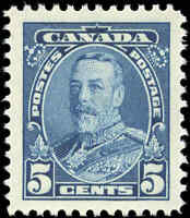 Canada 1935 Mint H VF Scott #221 5c Pictorial Issue Stamp
