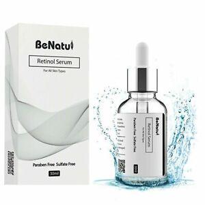 Best Retinol Face Serum 30ml, Vitamin C+Hyaluronic Acid for Anti-Wrinkle & Aging