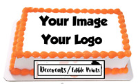 Custom cake topper, cake image, edible cake topper, sugar sheet,cake decoration