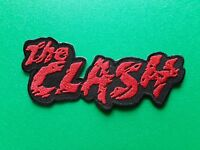 PUNK ROCK HEAVY METAL MUSIC SEW / IRON ON PATCH:- THE CLASH (b)
