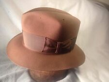 40's Disney Fedora Vintage Men's Hat With Some Serious Mothholes