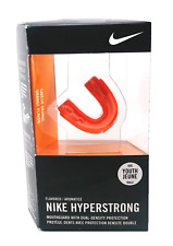 Nike Hyperstrong Mouth Guard Dual Density Protection sz Y Youth Orange