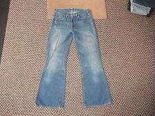 """Diesel Sfenx jeans taille 28 """" jambe 30 """" décoloré BLEU MOYEN Femmes Jeans"""