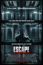 ESCAPE PLAN - Original Promo Movie Poster MINT SDCC 2013 Stallone Schwarzenegger
