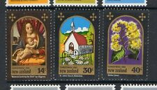 New Zealand 1981 Christmas MNH mint set of stamps